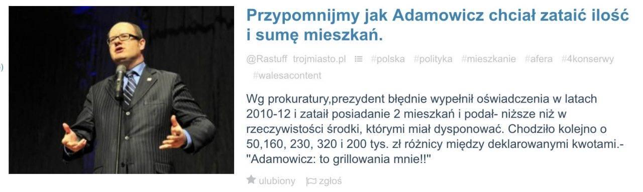 Zorganizowany atak hejtu na Pawła Adamowicza wzmógł się po jego śmierci 3