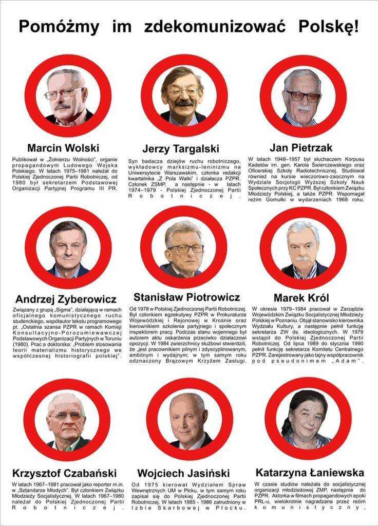 Wolski, Targalski, Pietrzak, Zybertowicz, Piotrowicz... Mroczna przeszłość ludzi PiS 3