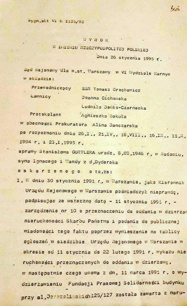 Kolejna afera z Kaczyńskim w tle! Chodzi o przejęcie nieruchomości na początku lat 90-tych 25