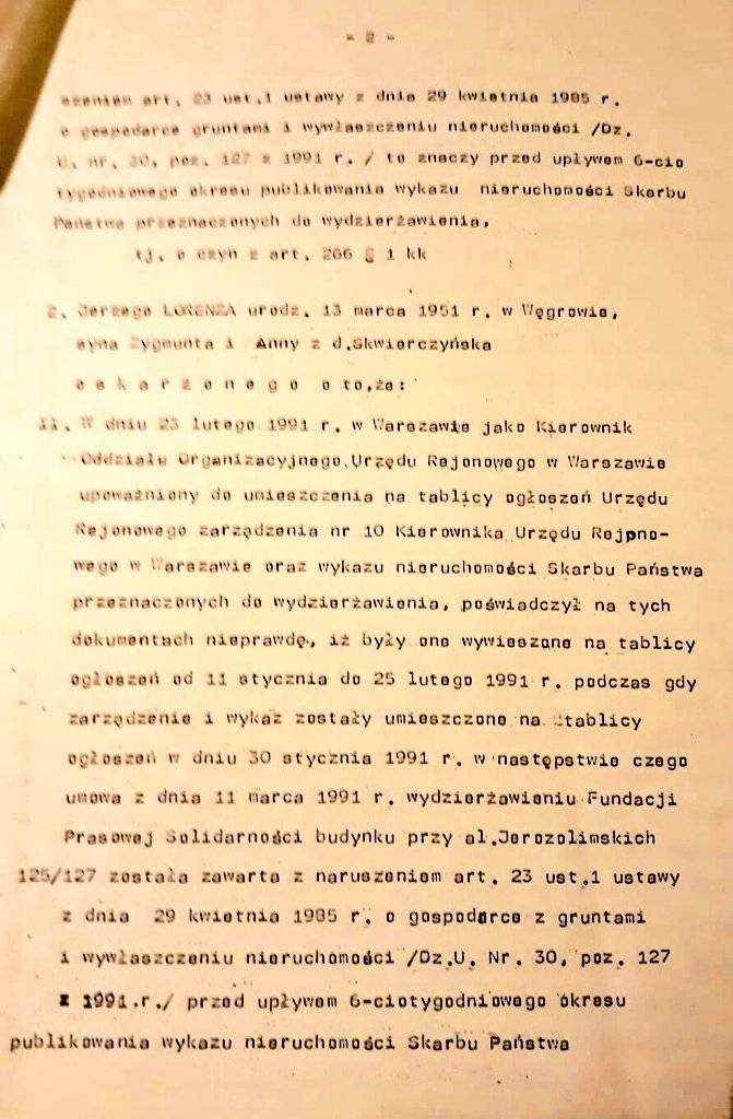 Kolejna afera z Kaczyńskim w tle! Chodzi o przejęcie nieruchomości na początku lat 90-tych 26