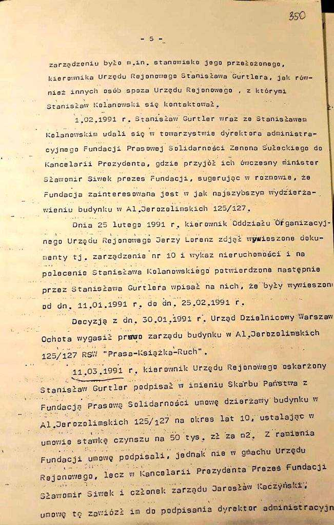 Kolejna afera z Kaczyńskim w tle! Chodzi o przejęcie nieruchomości na początku lat 90-tych 29