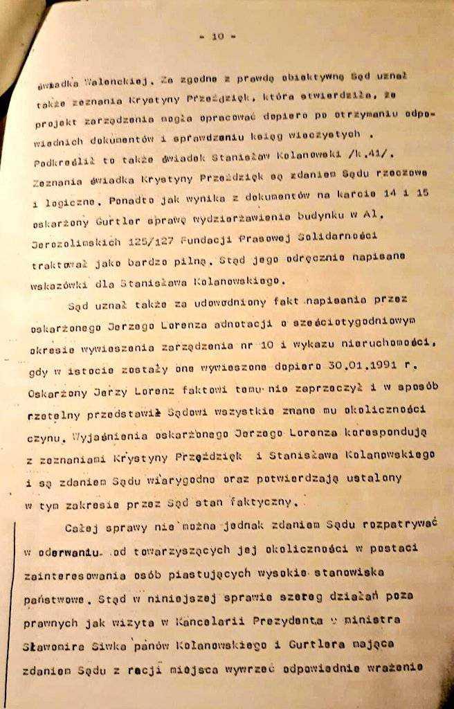 Kolejna afera z Kaczyńskim w tle! Chodzi o przejęcie nieruchomości na początku lat 90-tych 34
