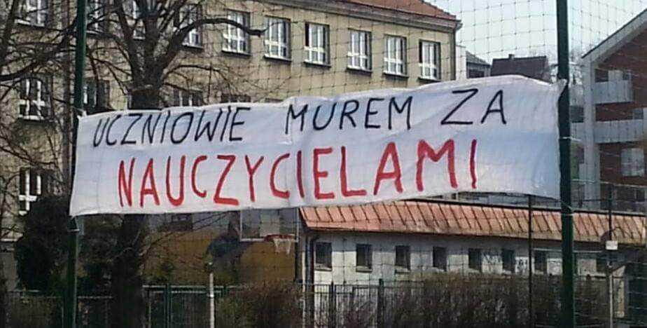 Od rana w całej Polsce trwa strajk nauczycieli. Protestują wszystkie związki zawodowe i niezrzeszeni! 3