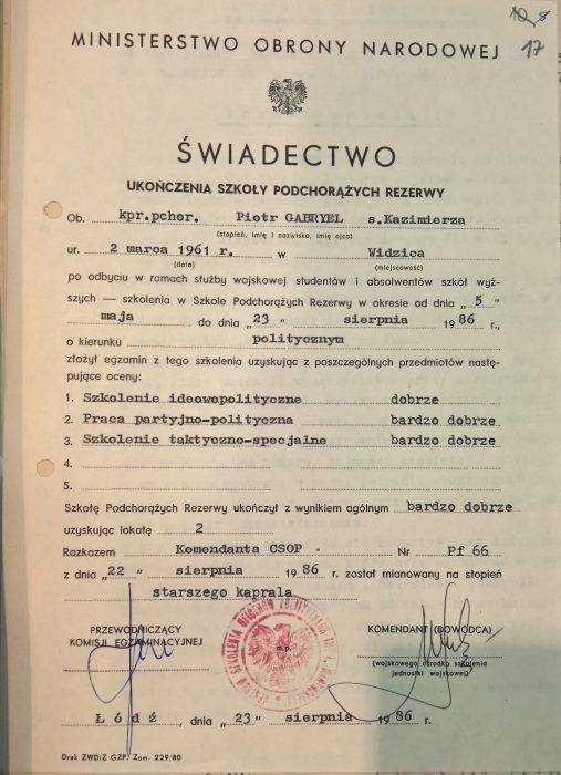 """Teczka kierującego tygodnikiem """"Do Rzeczy"""" w IPN. Kim jest Piotr Gabryel? [FOTO] 4"""