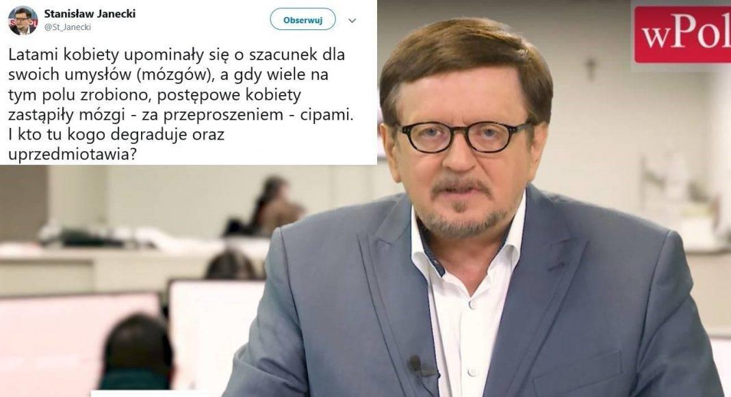 Dziennikarz TVP: Kobiety zastąpiły mózgi cipami 1