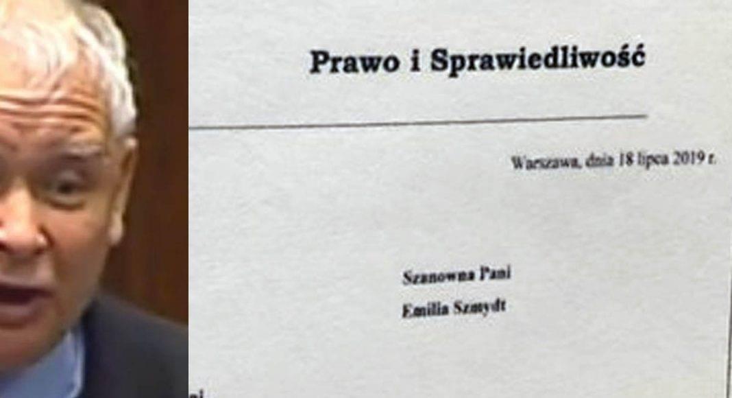 Niewiarygodna afera! Jarosław Kaczyński osobiście pisał do hejterki z grupy w Ministerstwie Sprawiedliwości! 1