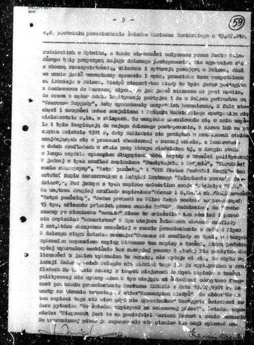 """""""Niezłomny"""" kapuś z PiS. Minister Kamiński wsypał kolegę SB! [AKTA] 2"""