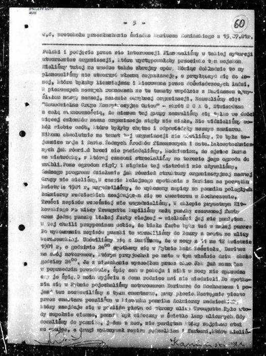 """""""Niezłomny"""" kapuś z PiS. Minister Kamiński wsypał kolegę SB! [AKTA] 4"""