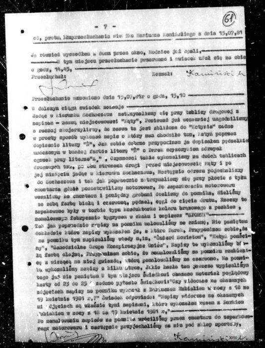 """""""Niezłomny"""" kapuś z PiS. Minister Kamiński wsypał kolegę SB! [AKTA] 6"""