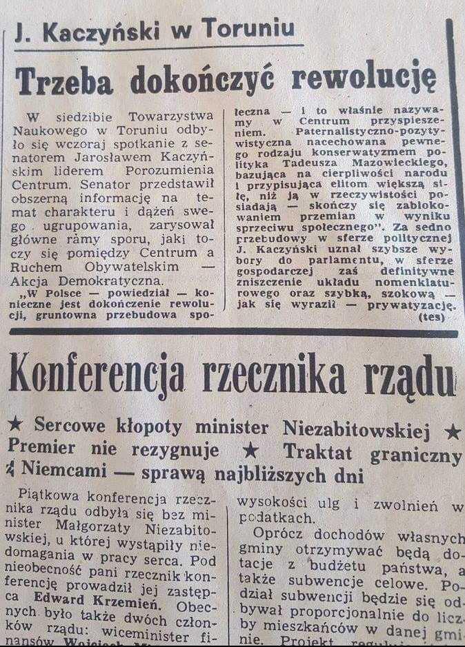 Ujawniamy! Kaczyński chciał szybkiej szokowej prywatyzacji 3